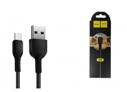 Кабель USB micro USB HOCO X20 Flash charging cable (черный) 3 метра
