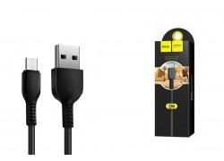 Кабель USB micro USB HOCO X20 Flash charging cable (черный) 2 метра
