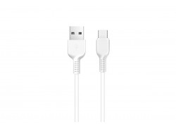 Кабель USB micro USB HOCO X20 Flash charging cable (белый) 1 метр