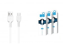 Кабель USB HOCO X20 Flash Type-C cable (белый) 3 метра