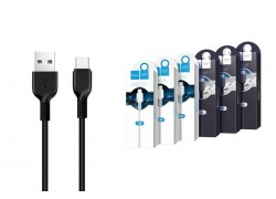Кабель USB HOCO X20 Flash Type-C cable (черный) 1 метр