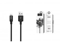 Кабель для iPhone HOCO X14 Times speed lightning cable 1м черный