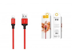Кабель для iPhone HOCO X14 Times speed lightning cable 1м красный