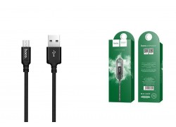 Кабель USB micro USB HOCO X14 Times speed charging cable (черный) 1 метр