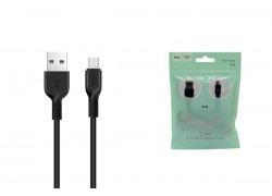 Кабель USB micro USB HOCO X13 Easy charged cable (черный) 1 метр