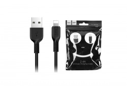 Кабель для iPhone HOCO X13 Easy charged lightning cable 1м черный