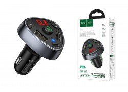 USB MP3 плеер +FM трансмиттер с диспл. HOCO E51 Road treasure car BT FM transmitter