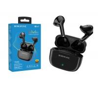 Беспроводные наушники BOROFONE BE47 Perfecto TWS wireless earphonesl 3.5мм цвет черная