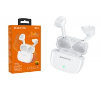 Беспроводные наушники BOROFONE BE47 Perfecto TWS wireless earphonesl 3.5мм цвет белая