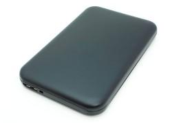 """Кейс бокс для жесткого диска 2.5"""" HDD003 металлический (черный)"""