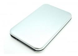Кейс бокс для жесткого диска 2.5'' HDD003 металлический (серебро)