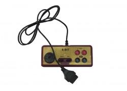 Джойстик квадратный 8bit Controller (светлый корпус, 15рin широкий разъем)