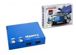 """Игровая приставка """"Hamy 4"""" 16+8 Bit Авто голубой корпус (350 встроенных игр)"""