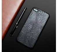 Чехол-накладка для Apple iPhone 6 Plus/6S Plus эко-кожа Black