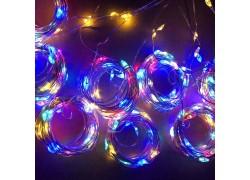 Огонек OG-LDG10 гирлянда-штора LED (3х1м,100 ламп,RGB)