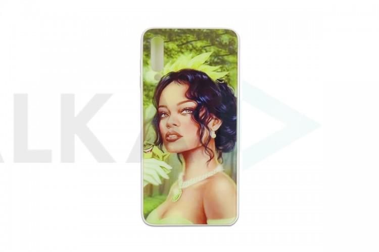 """Чехол для Samsung A50 пластиковый с рисунком """" персонажи Дисней"""" в ассортименте"""