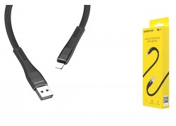 Кабель для iPhone BOROFONE BU4 small maistline lightning cable 1м черный