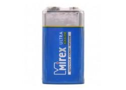 Батарея щелочная Mirex 6LR61/ Крона 9V 1 шт. (тех, уп,)
