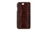Чехол-накладка для Apple iPhone 7 натуральная кожа нога страуса Brown