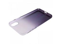 Пластиковая накладка iPhone X антиблик
