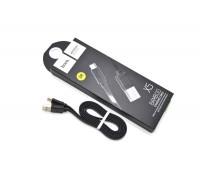 Кабель USB HOCO X5 Bamboo Type-C  черный, 1 м