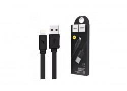 Кабель для iPhone HOCO X5 Bamboo lightning cable черный, 1 м