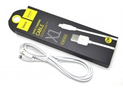 Кабель для iPhone HOCO X1 Rapid lightning cable  белый, 2м