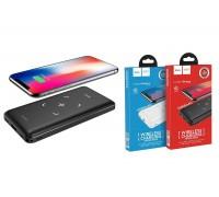 Универсальный дополнительный аккумулятор HOCO  J50 Surf wireless charging mobile power bank 10000 mAh черный
