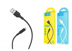 Кабель для iPhone HOCO X25 Soarer charging data cable for lightning 1м черный