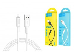 Кабель для iPhone HOCO X25 Soarer charging data cable for lightning 1м белый
