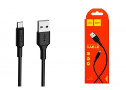 Кабель USB micro USB HOCO X25 Soarer charging data cable for Micro 1 метр черный