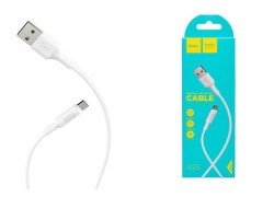 Кабель USB micro USB HOCO X25 Soarer charging data cable for Micro 1 метр белый