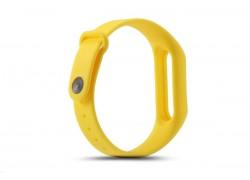 Ремешок силиконовый для XIAOMI MI Band 3/MI Band 4 цвет желтый