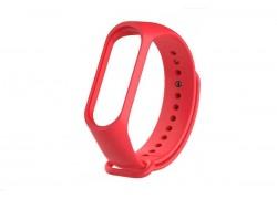 Ремешок силиконовый для XIAOMI MI Band 3/MI Band 4 цвет розовый
