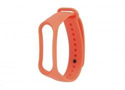 Ремешок силиконовый для XIAOMI MI Band 3/MI Band 4 цвет оранжевый