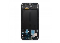 Дисплей для Samsung A305FN Galaxy A30 Black в сборе с тачскрином + рамка, orig100%