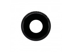 Стекло камеры для iPhone XR + рамка (черный)