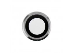 Стекло камеры для iPhone XR + рамка (белый)