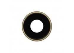 Стекло камеры для iPhone XR + рамка (желтый)