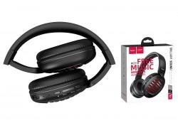 Беспроводные внешние наушники HOCO W23 Briliant sound wireless headphones черный
