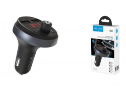 USB MP3 плеер +FM трансмиттер с диспл. HOCO E41 In-car audio wireless FM transmitter