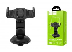 Держатель авто HOCO CA40 Refined suction cup base in-car dashboard phone holder черный