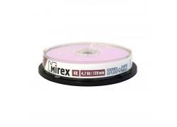 DVD+RW Mirex 4,7 Гб 4X Cake box 10 (пластиковый туб 10 шт)