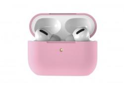 Чехол для гарнитуры вакуумной беспроводной AirPods Pro Copy orig. розовый