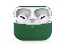 Чехол для гарнитуры вакуумной беспроводной AirPods Pro Copy orig. зеленая хвоя