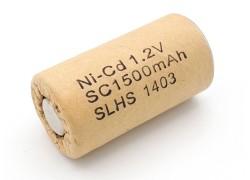 Аккумулятор SC (1.2V 1500mAh Ni-Cd)