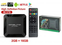 Медиа плеер Орбита OT-DVB31 (2) (Allwinner H313, Android10,0, 2Гб, Flash 16ГБ, Wi-Fi)