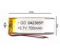 Аккумулятор для GPS, MP3  64\22\4 мм (3.7V)