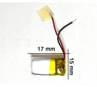 Аккумулятор для GPS, MP3 17\15\4 мм (3.7V)