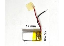 Аккумулятор универсальный 17x15x4 3.7V 180mAh (041517P)